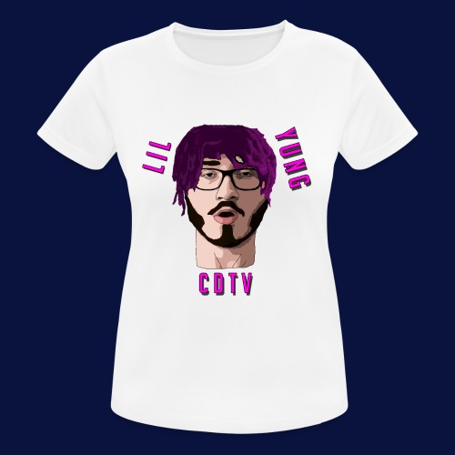 LIL YUNG CDTV - Women's Breathable T-Shirt