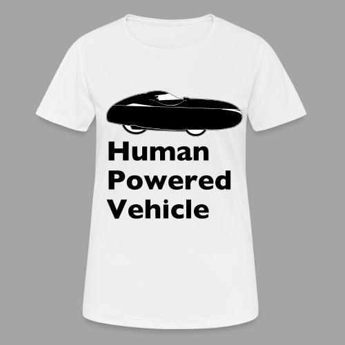 Quest Human Powered Vehicle 2 black - naisten tekninen t-paita