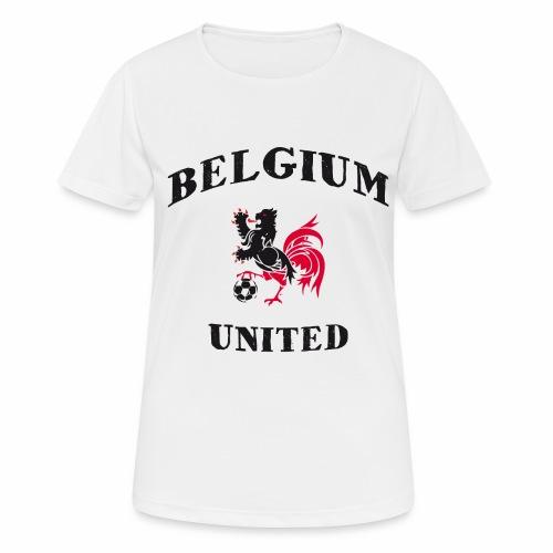 Belgium Unit - Women's Breathable T-Shirt