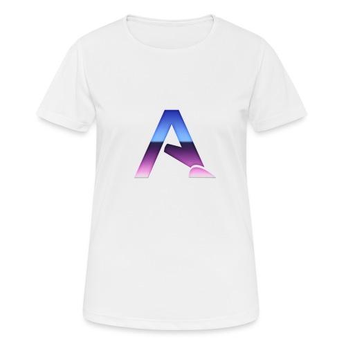 logga 3 - Andningsaktiv T-shirt dam