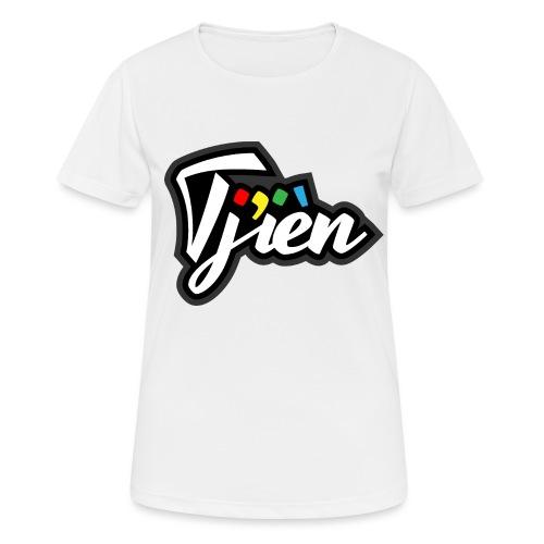 Tjien Logo Design - Vrouwen T-shirt ademend actief