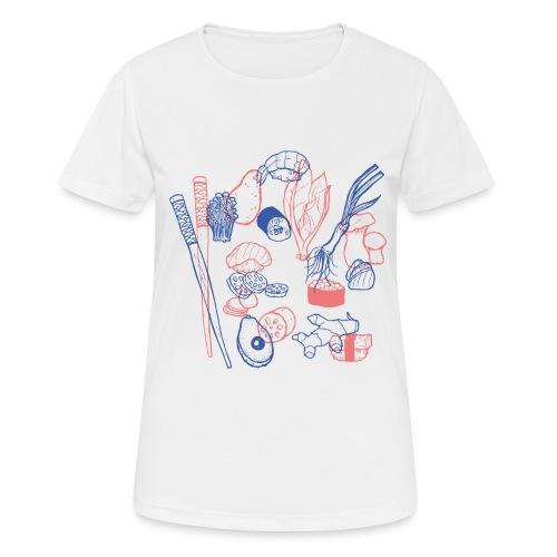 Sushi - Frauen T-Shirt atmungsaktiv