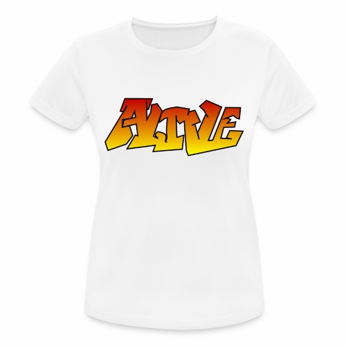 ALIVE CGI - Women's Breathable T-Shirt