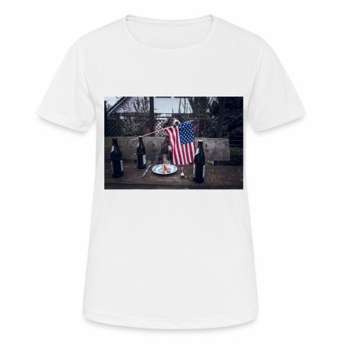 USA-beer-wiener - Frauen T-Shirt atmungsaktiv