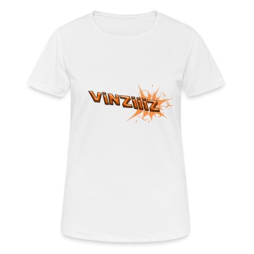 Vinziiiz - Andningsaktiv T-shirt dam