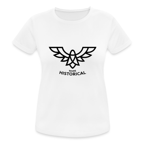 Text & Logo - Women's Breathable T-Shirt
