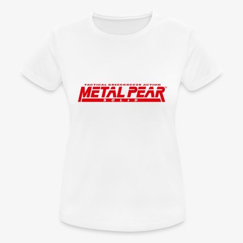 Metal Pear Solid: Tactical Greengrocer Action - Women's Breathable T-Shirt