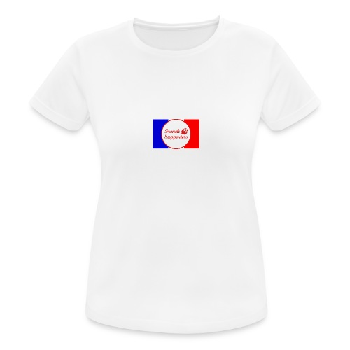 French supporters - T-shirt respirant Femme