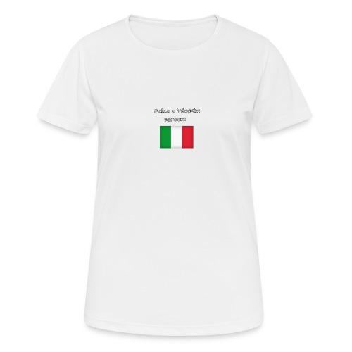 Włosko-polska - Koszulka damska oddychająca