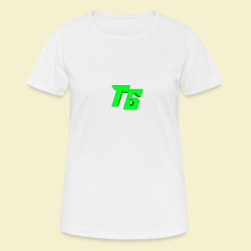 TristanGames logo merchandise - Vrouwen T-shirt ademend actief