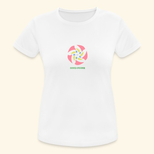 GOOD FLOWER - Camiseta mujer transpirable