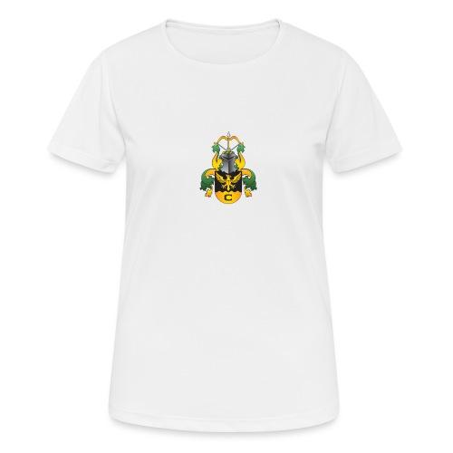vaakuna, iso - naisten tekninen t-paita