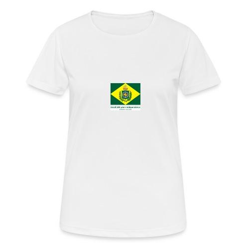 Brazil 200 years independence - Pustende T-skjorte for kvinner