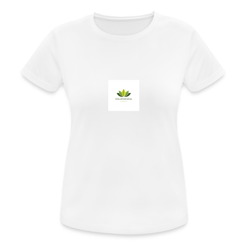 logo - Andningsaktiv T-shirt dam