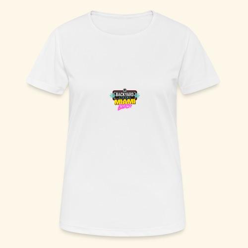Miami Beach - Women's Breathable T-Shirt