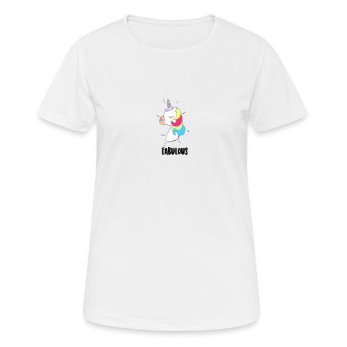 Fabulous Unicorn - T-shirt respirant Femme