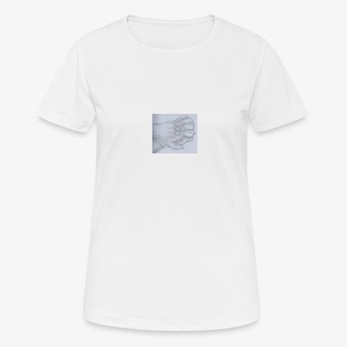 main dans la main - T-shirt respirant Femme