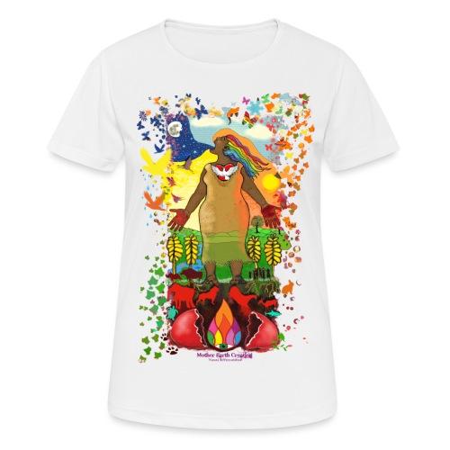 Mother Earth Creating - Vrouwen T-shirt ademend actief