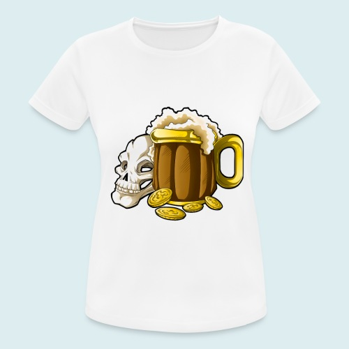 beer - Maglietta da donna traspirante