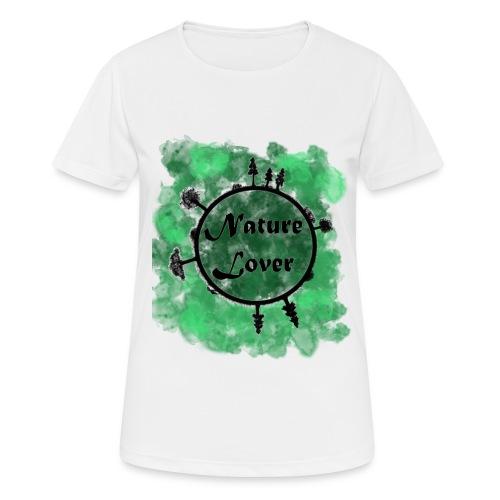 Naturliebhaber - Frauen T-Shirt atmungsaktiv