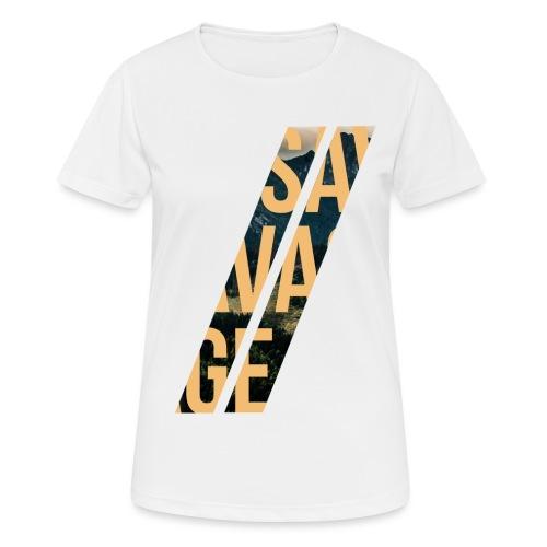 //Savage - Maglietta da donna traspirante