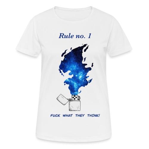 Rule no. 1 - Dame T-shirt svedtransporterende