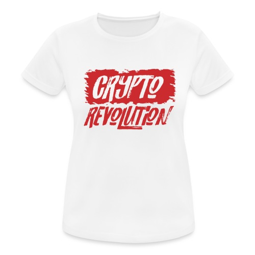 Crypto Revolution - Women's Breathable T-Shirt