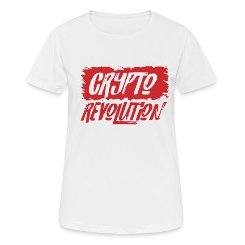 Crypto Revolution - Women's Breathable T-Shirt