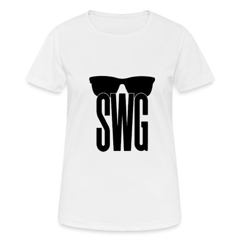 Swag - Vrouwen T-shirt ademend actief