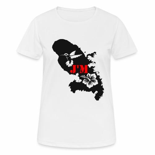 J'M La Martinique - T-shirt respirant Femme