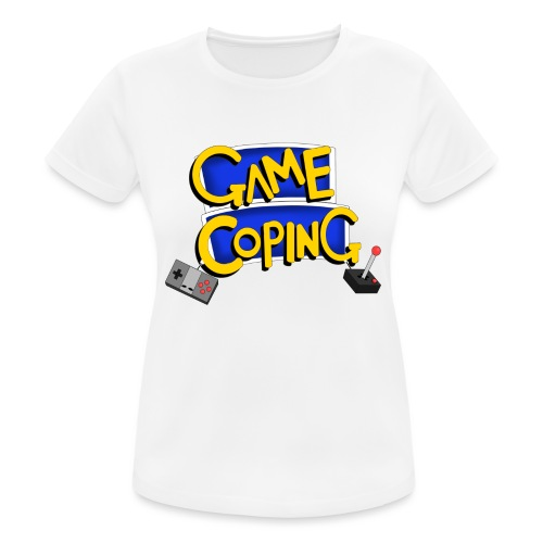 Game Coping Logo - Women's Breathable T-Shirt