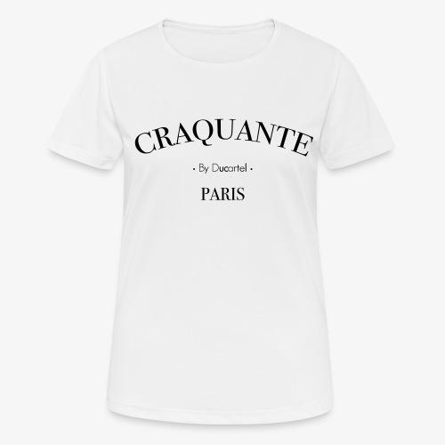 Craquante - T-shirt respirant Femme