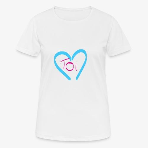 Mon cœur c'est Toi - T-shirt respirant Femme