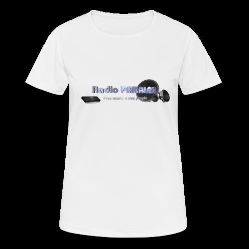 Radio PARALAX Facebook-Logo - Frauen T-Shirt atmungsaktiv