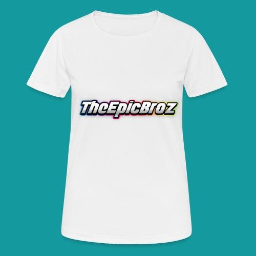 TheEpicBroz - Vrouwen T-shirt ademend actief