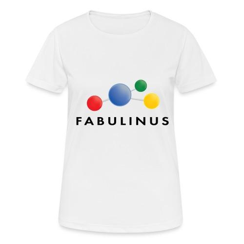 Fabulinus logo dubbelzijdig - Vrouwen T-shirt ademend actief