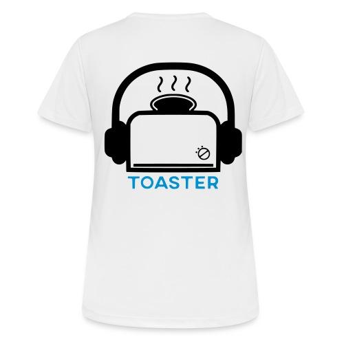 Toaster Logo - naisten tekninen t-paita