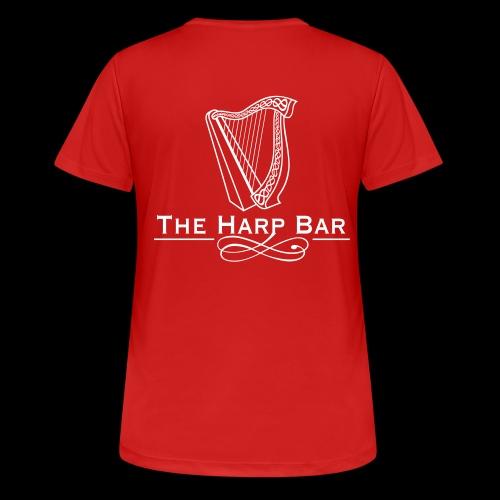Logo The Harp Bar Paris - T-shirt respirant Femme