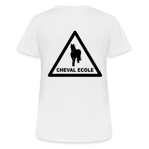 chevalecoletshirt - T-shirt respirant Femme