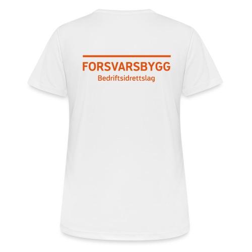 Bedriftsidrettslag SORT - Pustende T-skjorte for kvinner