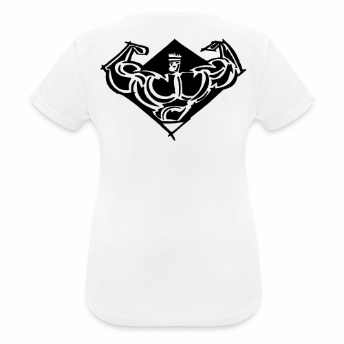 comet gym icon - Andningsaktiv T-shirt dam