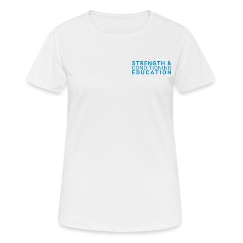 SCE - S&C COACH - Women's Breathable T-Shirt