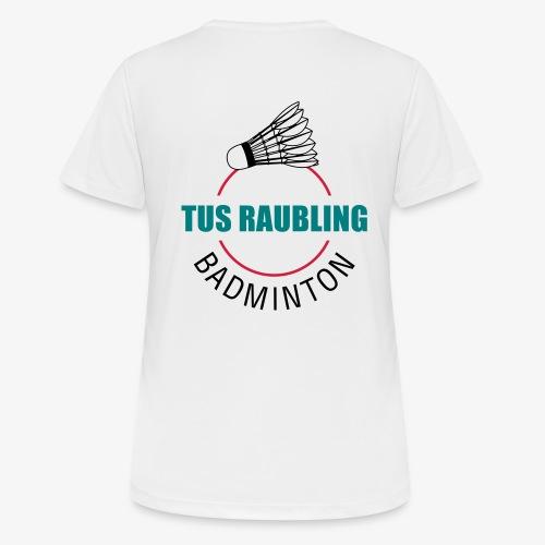 TuS Raubling Badminton Trikot Rückseite - Frauen T-Shirt atmungsaktiv