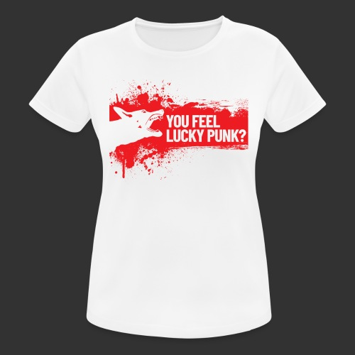 K9 Punk - naisten tekninen t-paita