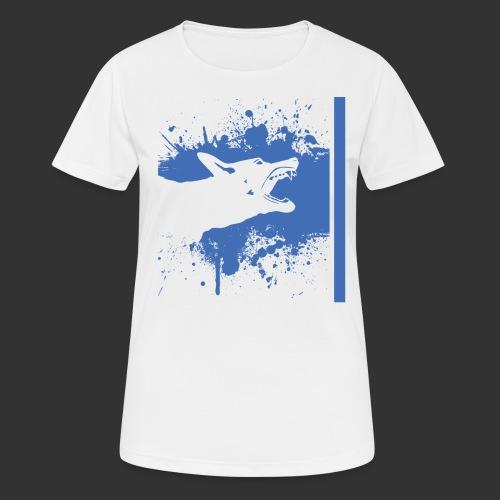 K9 Thin Blue Line - Women's Breathable T-Shirt