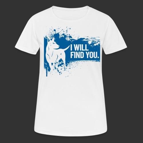 Rescue - naisten tekninen t-paita