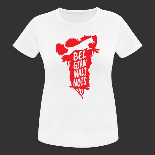 Belgian Malinois JUMP - Women's Breathable T-Shirt