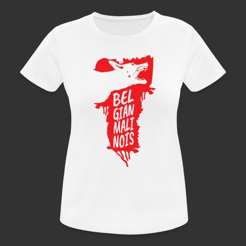 Belgian Malinois HEAD - Women's Breathable T-Shirt