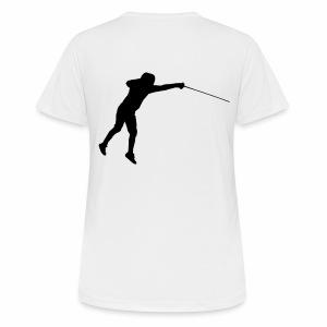 Jumping Fencer - Frauen T-Shirt atmungsaktiv
