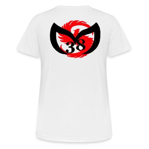 MArtialsports38THDD png - T-shirt respirant Femme